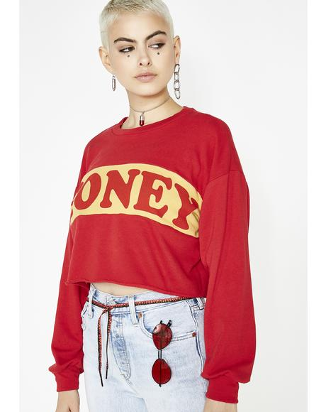 Sweet Like Honey Long Sleeve Tee