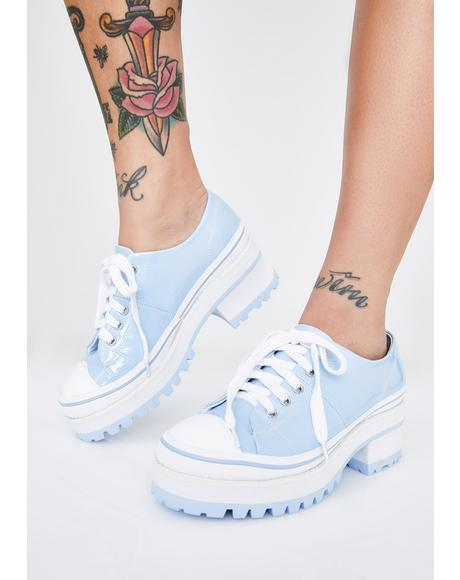 Full Of Secrets Heeled Sneakers