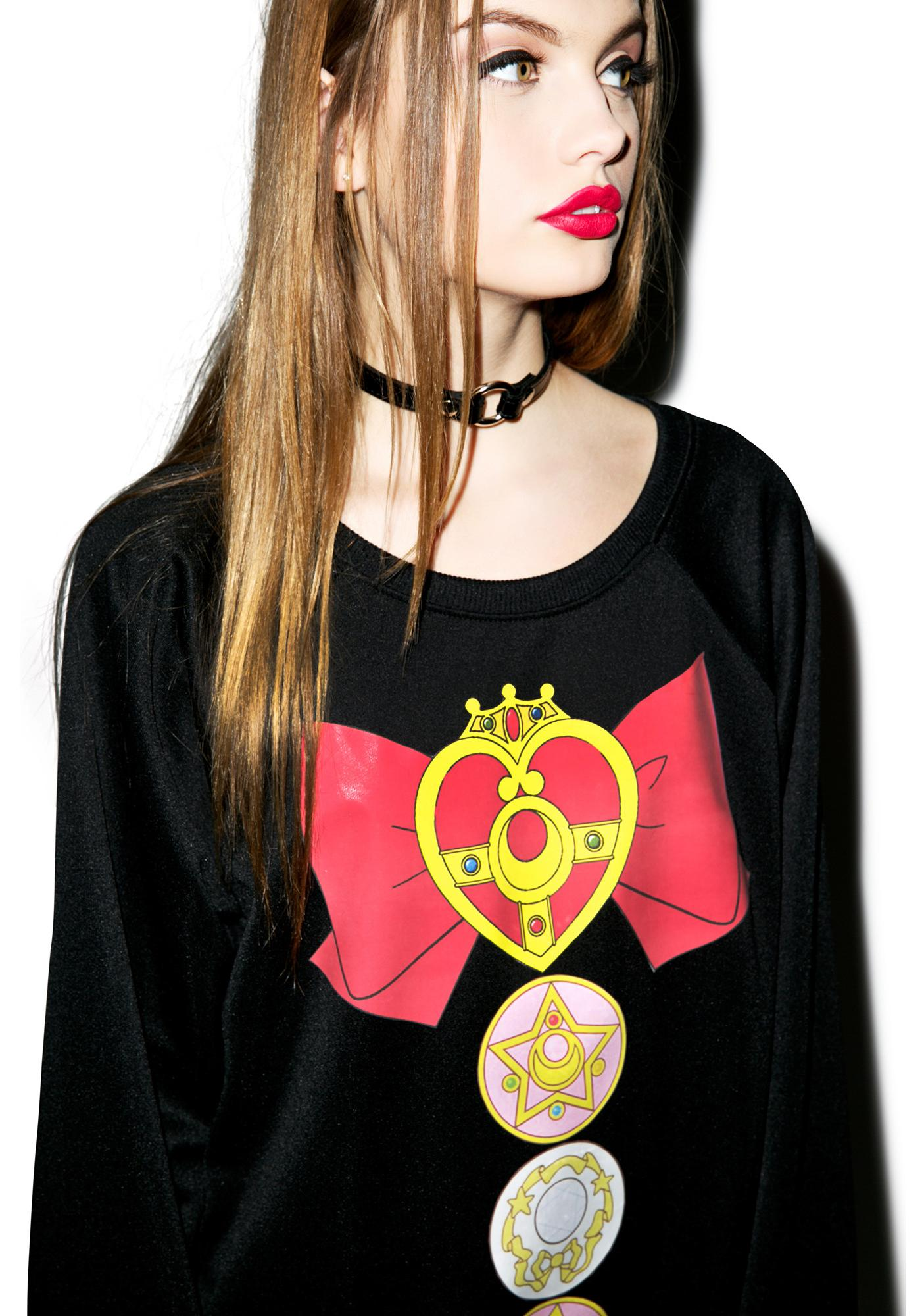 Sailor Mewn Bow Crewneck