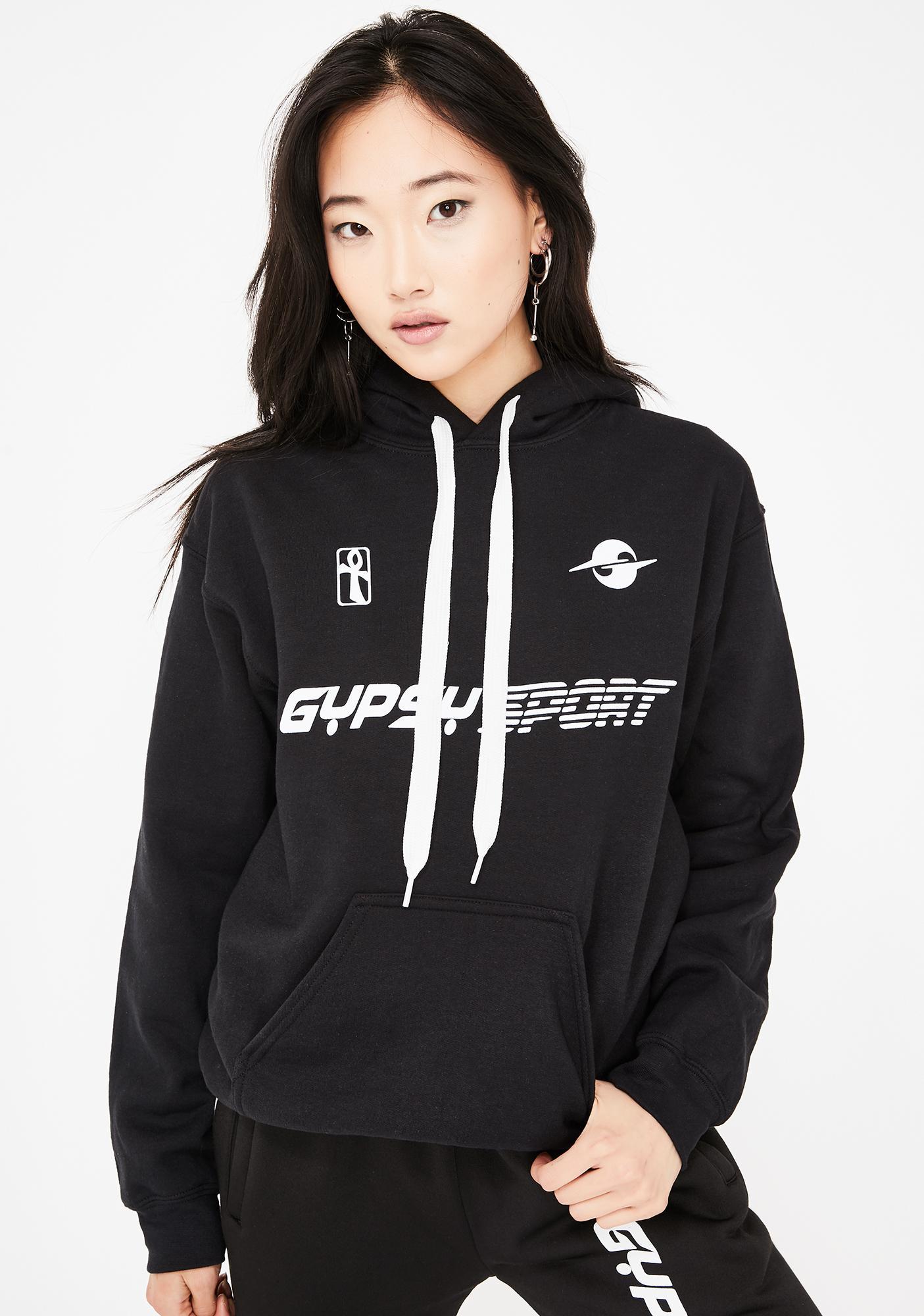 Gypsy Sport Fleece Logo Hoodie