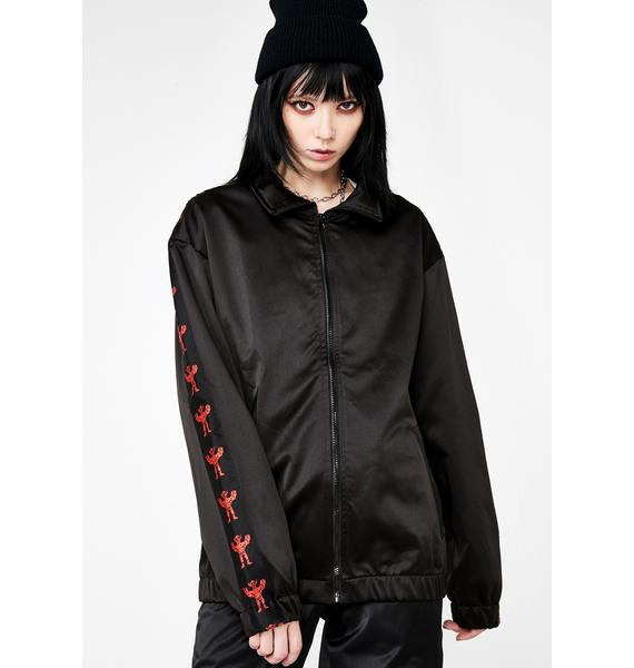 Volchok Clothing Crash Test Yourself Zip Up Windbreaker