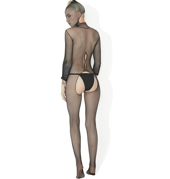 Vanishing Game Hooded Bodystocking