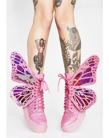 Bubblegum Metamorphic Boots