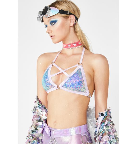 Seagypsy Couture Cross My Heart Bra Top