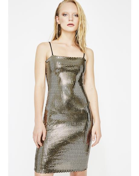 Filthy Rich Mini Dress
