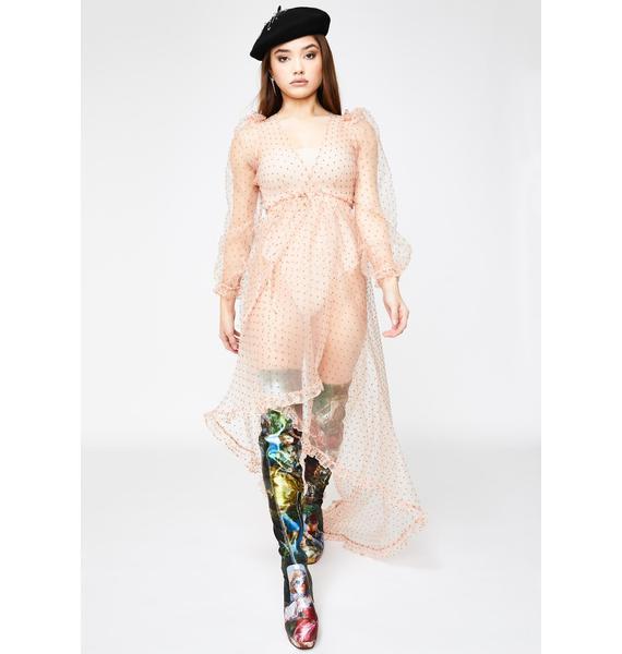 Selkie Morning Glory Maxi Dress
