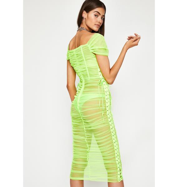 Atomic Sinful Thots Sheer Dress
