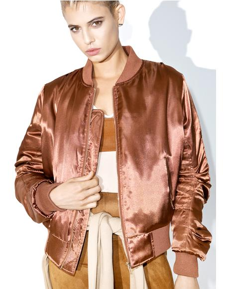 Set The Tone Bomber Jacket