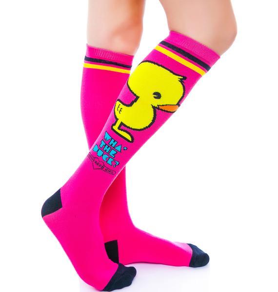 Wha the Duck  Socks