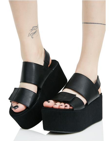 Pixie Platform Sandals
