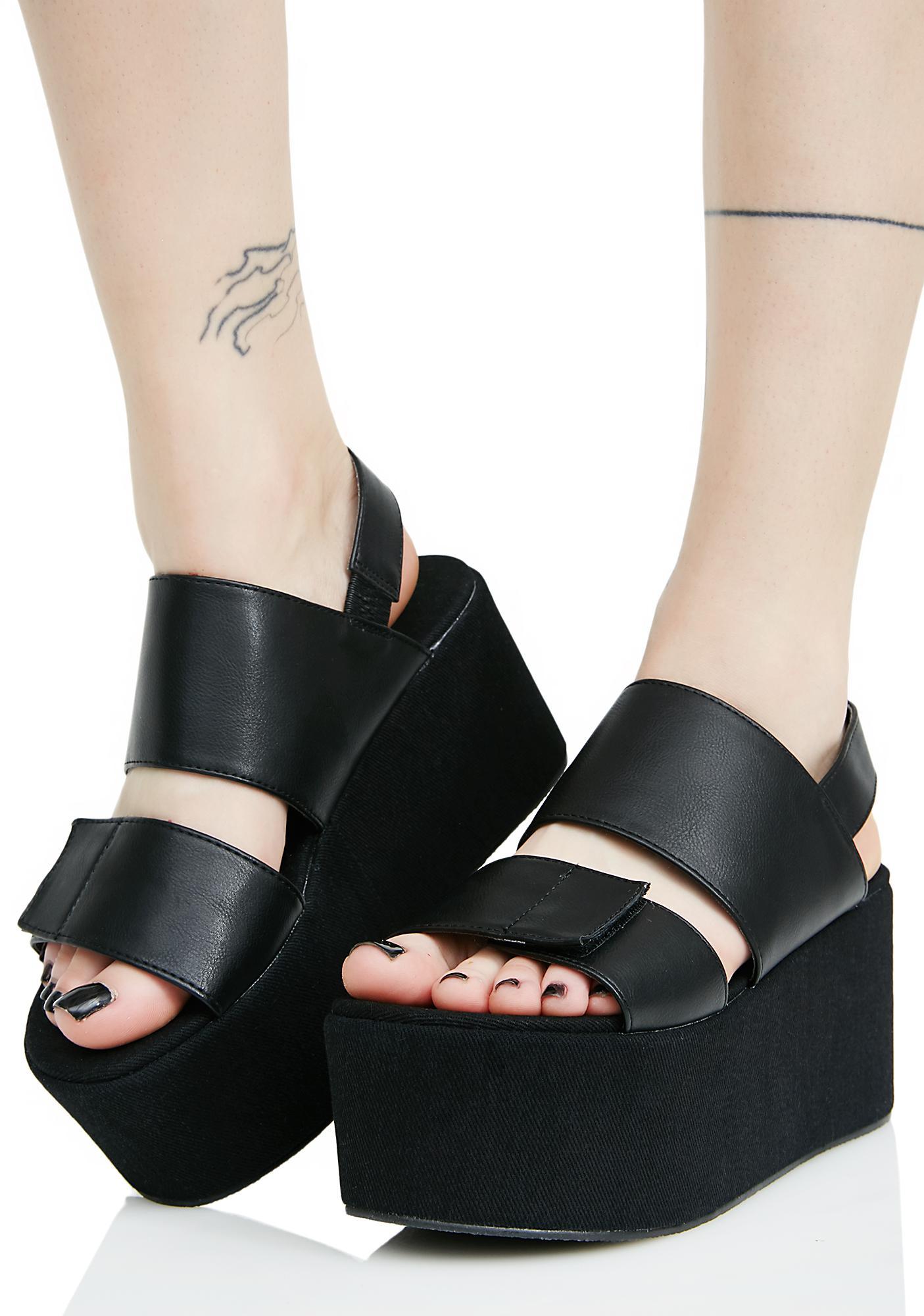 Public Desire Pixie Platform Sandals