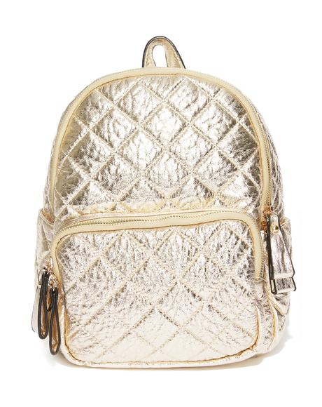 Glow Getter Quilted Backpack