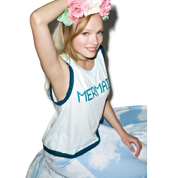 Wildfox Couture BFF Mermaid Barback Tank