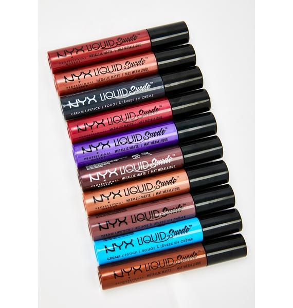 NYX Professional Makeup Liquid Suede Lipstick Vault