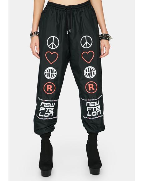 P.L.U.R Track Pants