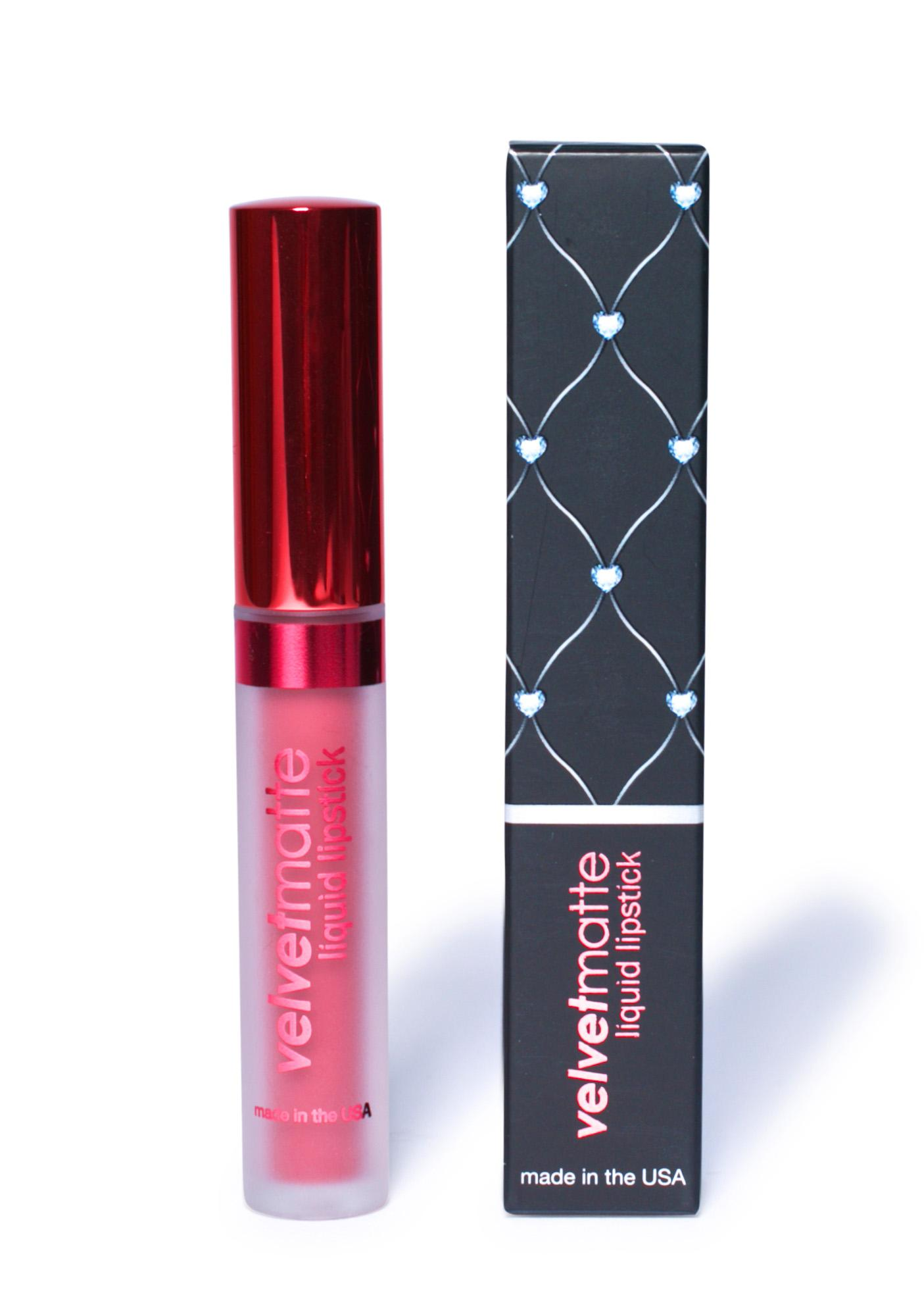 LA Splash Seductress Velvet-Matte Liquid Lipstick