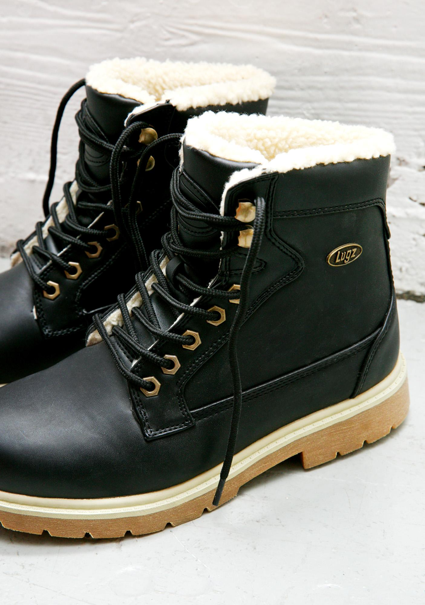 Lugz Regiment High Fleece Boots
