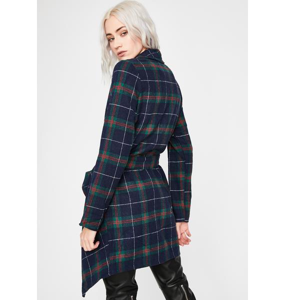 Need No One Longline Coat