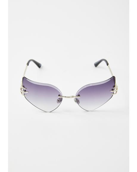 Iris Celestial Sass Cat-Eye Sunglasses