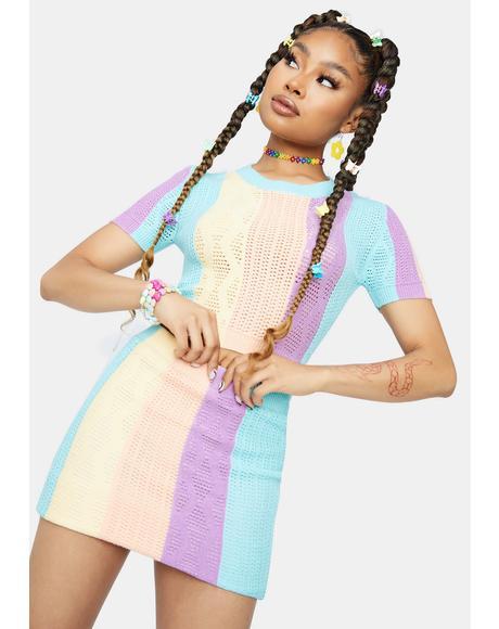 Magic Maker Knit Skirt Set