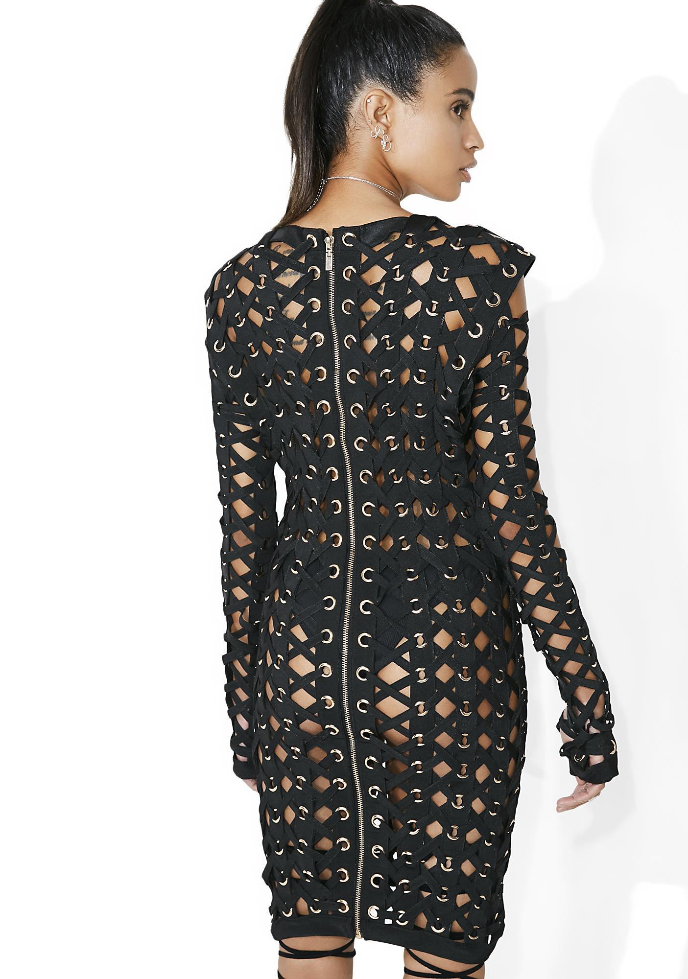 Valkyrie Caged Bodycon Dress