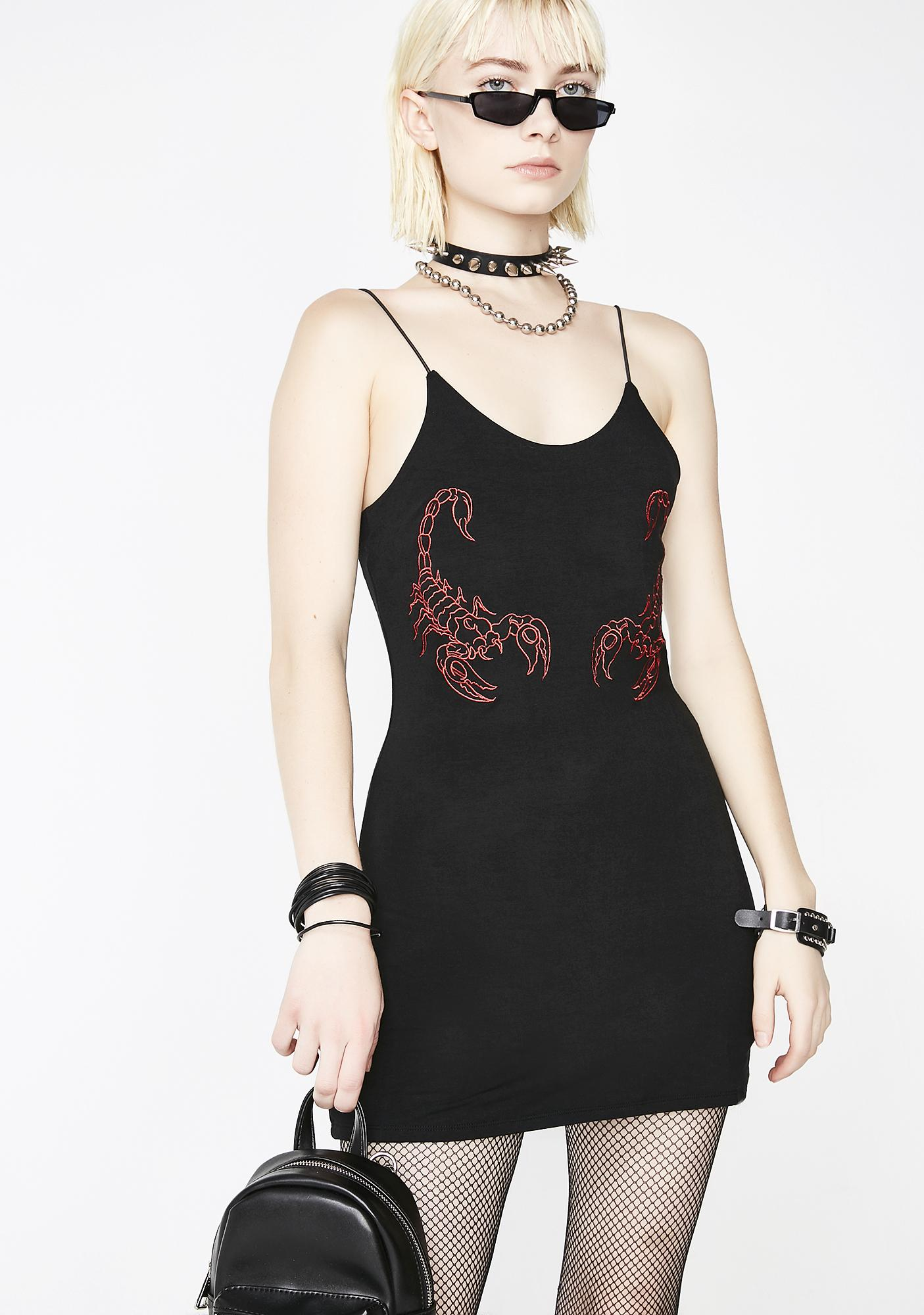 O Mighty OG Scorpion Mini Dress