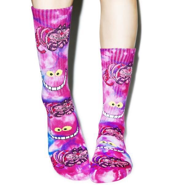 HUF Rabbit Hole Crew Socks