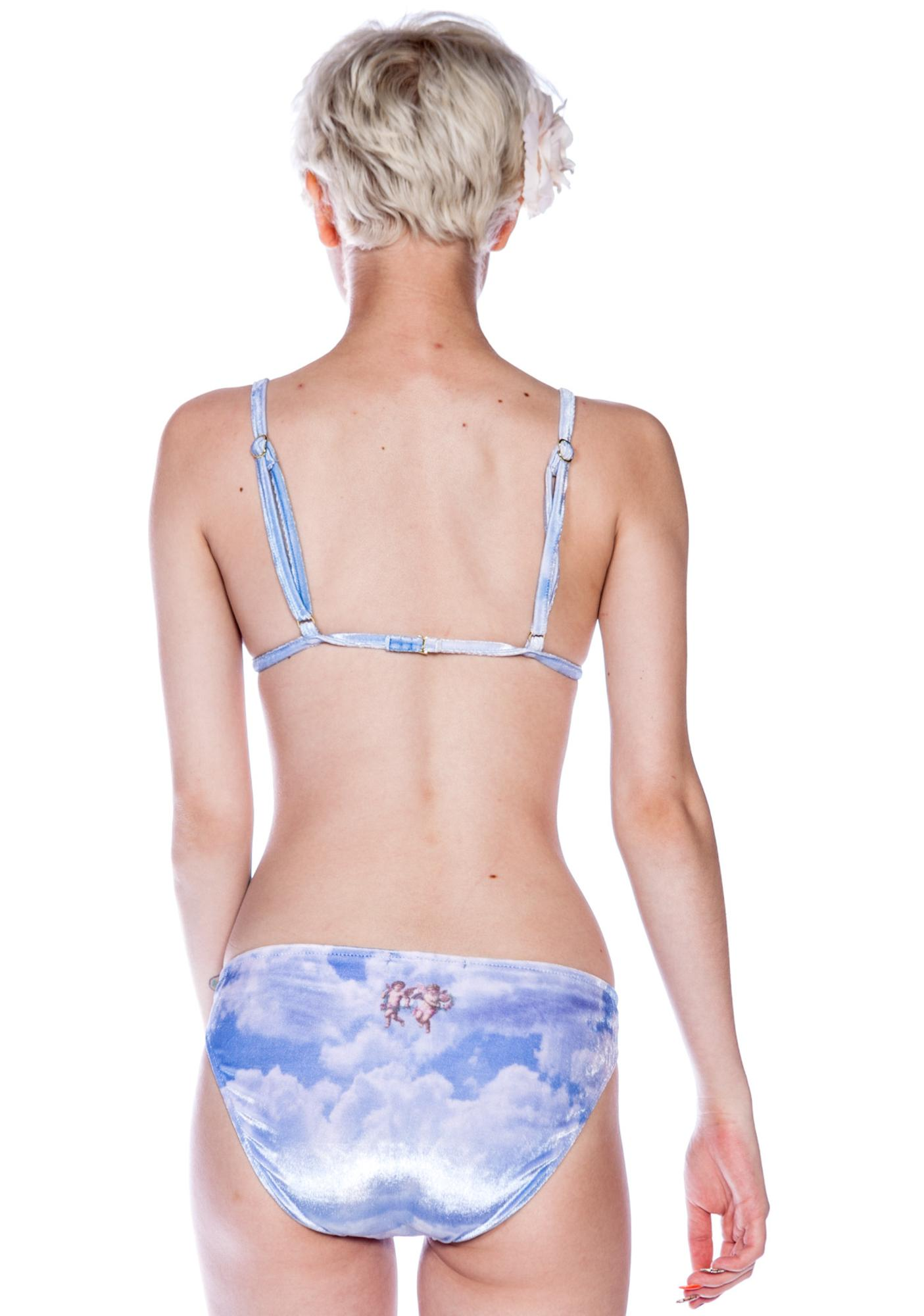 Wildfox Couture Cupid Cloudy Sky Bikini Brief