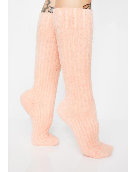 Peachy Keen Socks