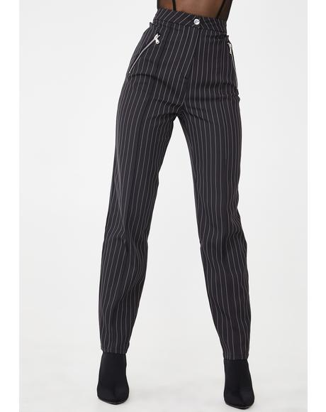 Clueless Pinstripe Pants