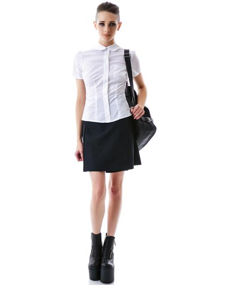 St. Trinian's Button Up Shirt