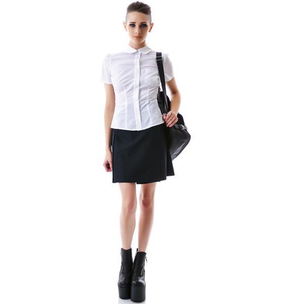L'ecole des Femmes St. Trinian's Button Up Shirt