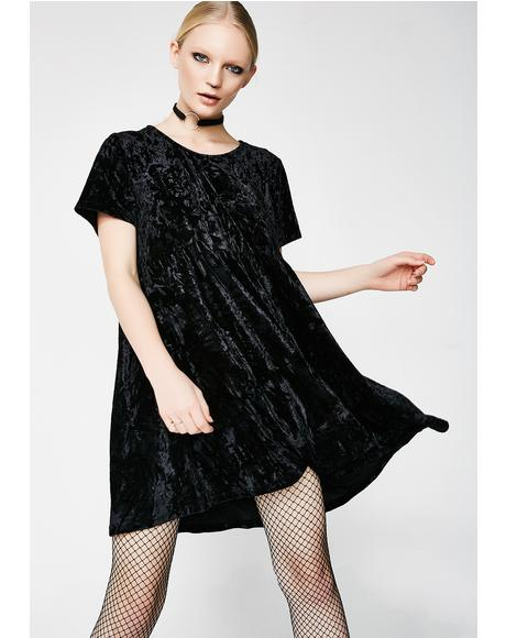 Raven Play Day Velvet Dress