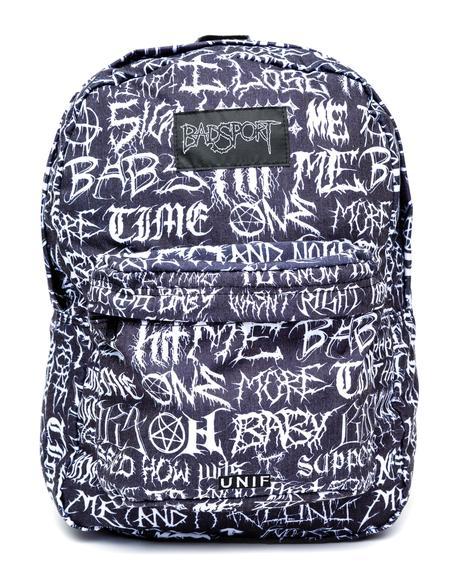 Badsport Backpack
