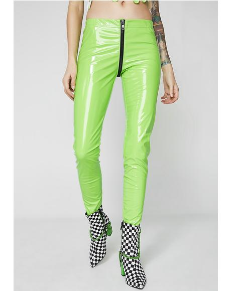 Slime Through The Smoke Full Zip Leggings