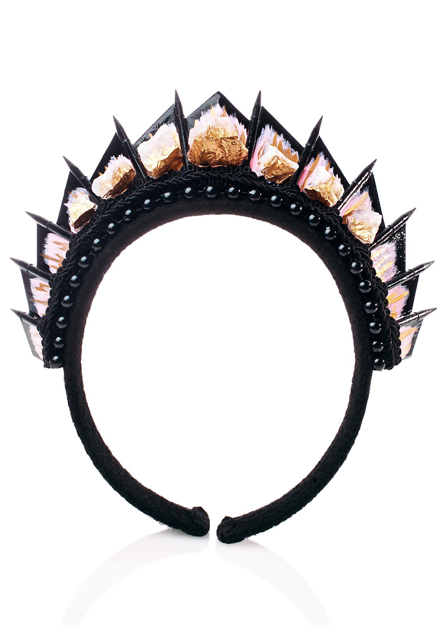 Loschy Designs Rose Quartz Crown