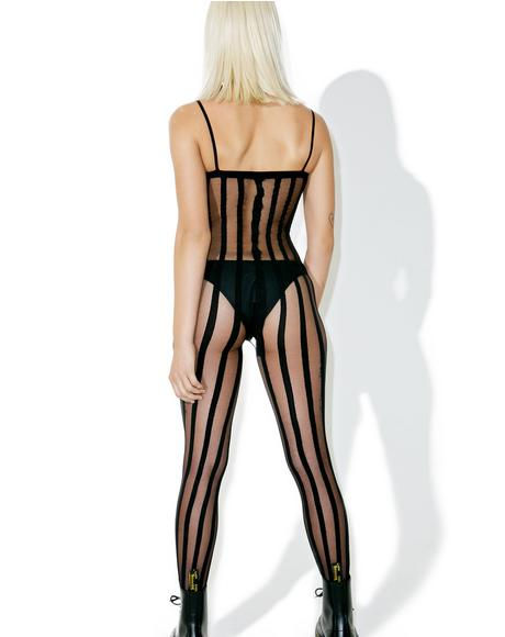 Joke's On U Mesh Body Stocking