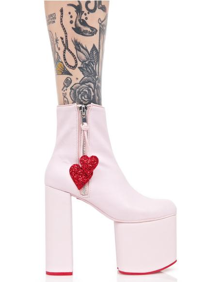 Heartstomper Platform Boots
