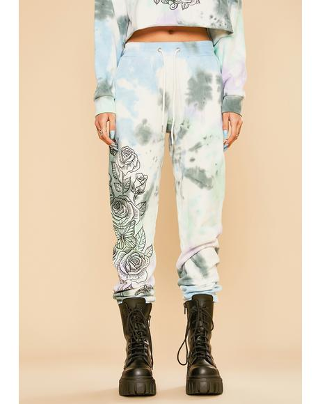 Lust For Wonder Tie Dye Sweatpants