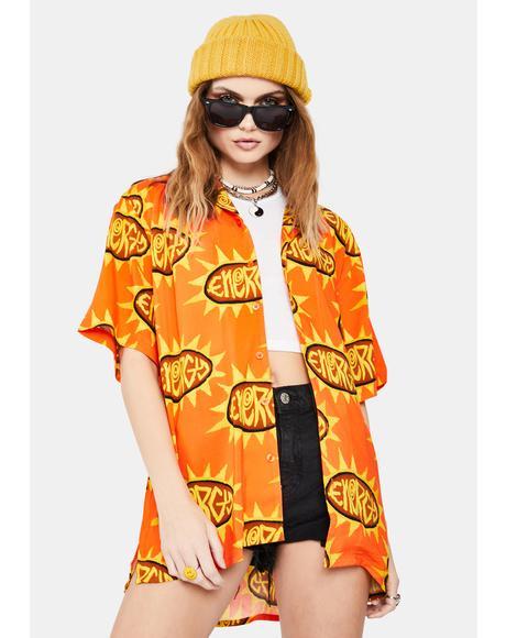 Orange Energy Vacation Shirt