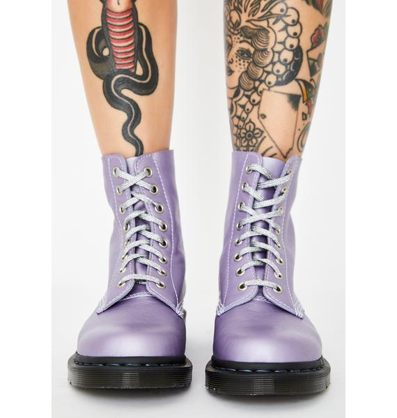 Dr. Martens 1460 Pascal Metallic Virginia Boots