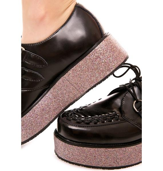 T.U.K. Glitter Wrap Creeper