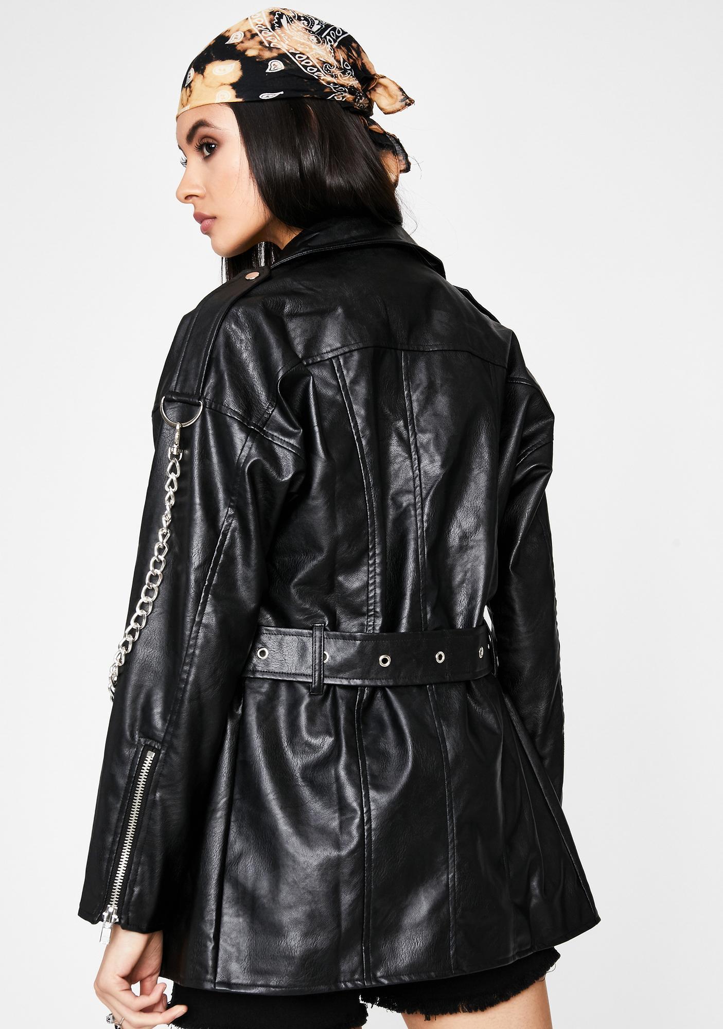 Fortunate Haze Moto Jacket