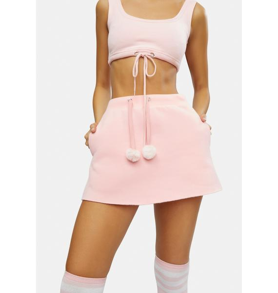 Club Exx Abominable Creature Mini Skirt