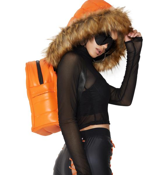 Poster Grl Hoodlum Hooded Backpack