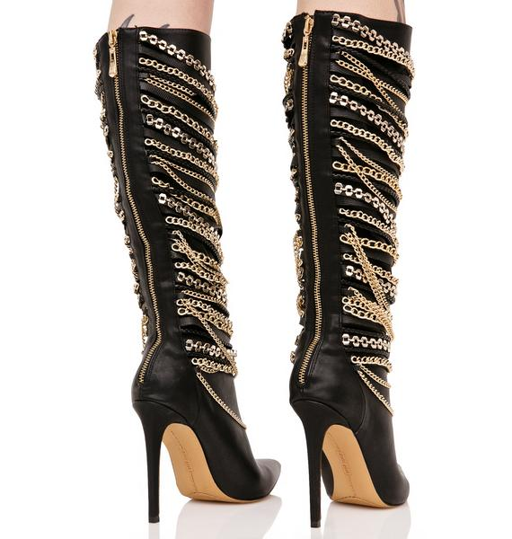 Fortuna Chained Boots