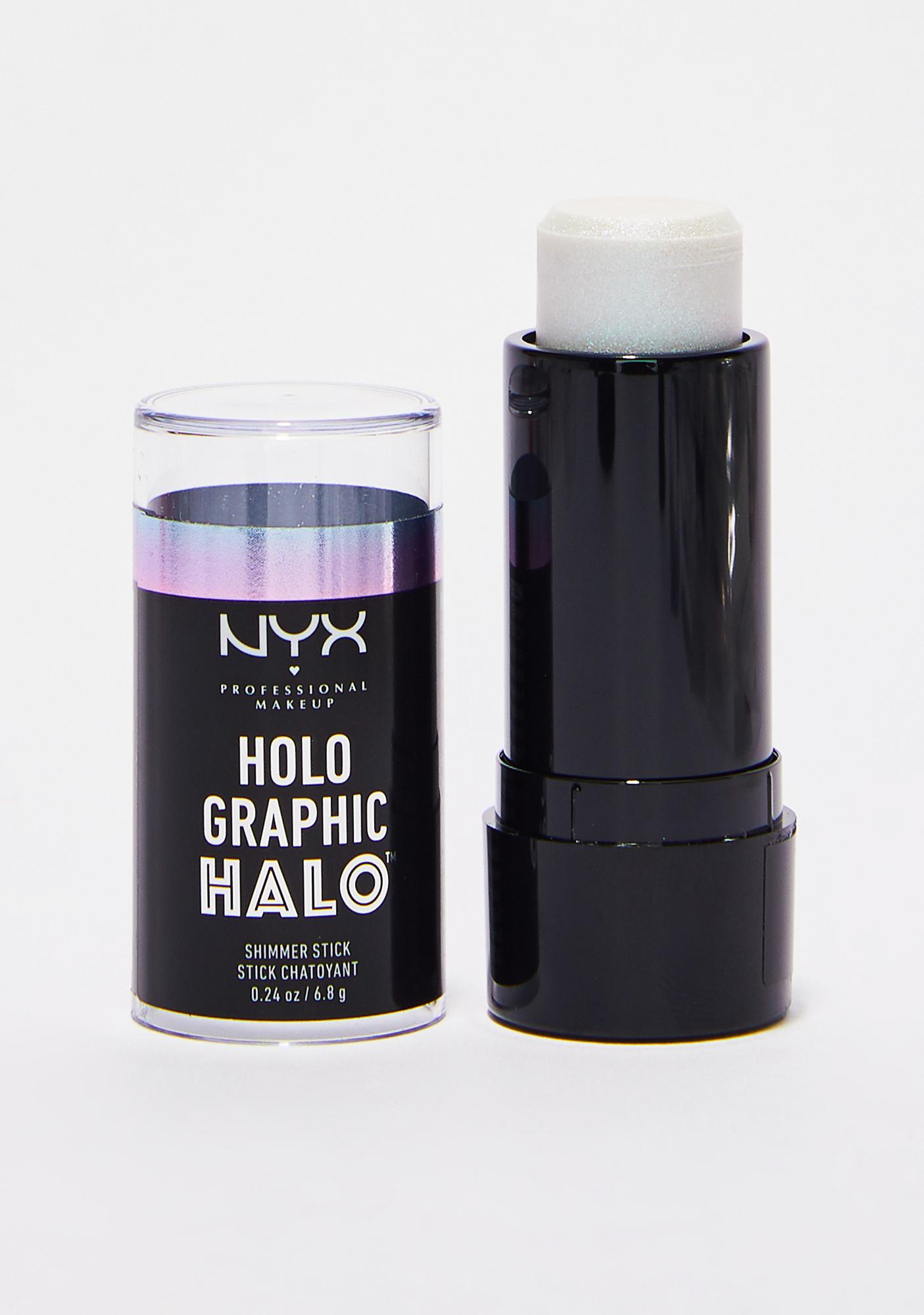 NYX Arctic Crush Holographic Halo Shimmer Stick