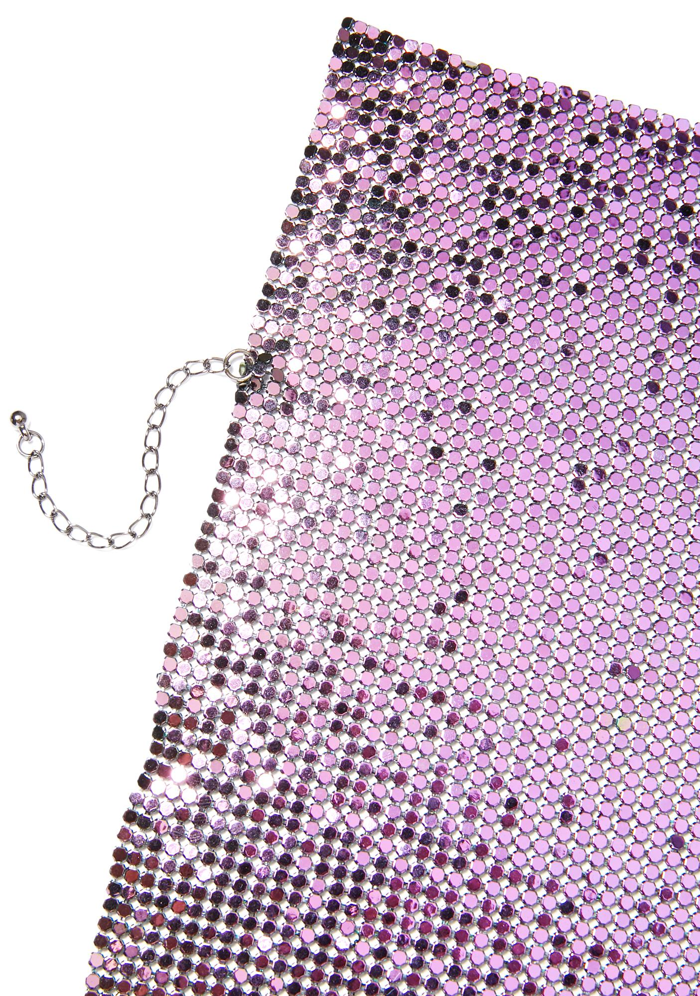 Boujee BB Chainmail Necklace