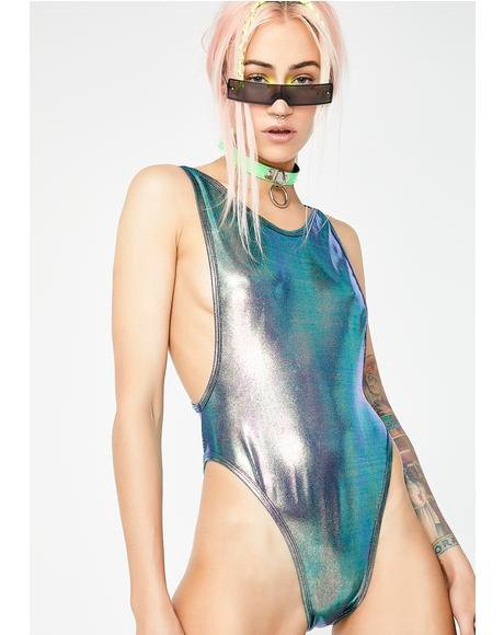 Mermaid Dimension High Rise Bodysuit