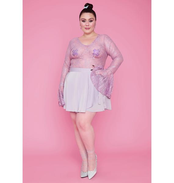 Sugar Thrillz Deluxe Pixie Dust Lace Bodysuit